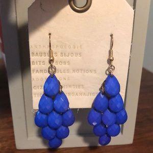 Blue Chandelier Earrings from Anthropologie